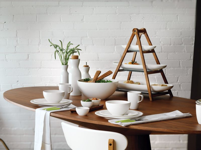 Villeroy Boch Artesano Collection Geschirr Tischdekoration Gedeckter Tisch