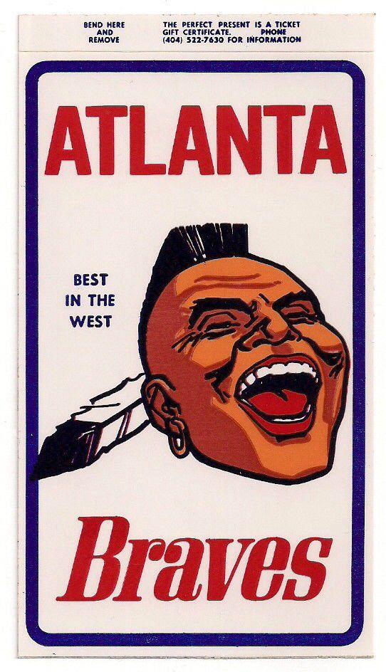 Atlanta Braves Indian Logo Atlanta Braves Braves Atlanta Braves Baseball