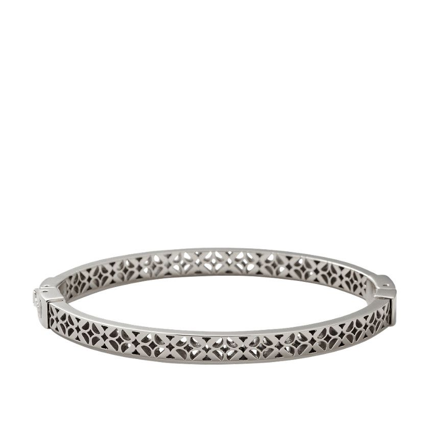 Bracelet rigide fossil femme