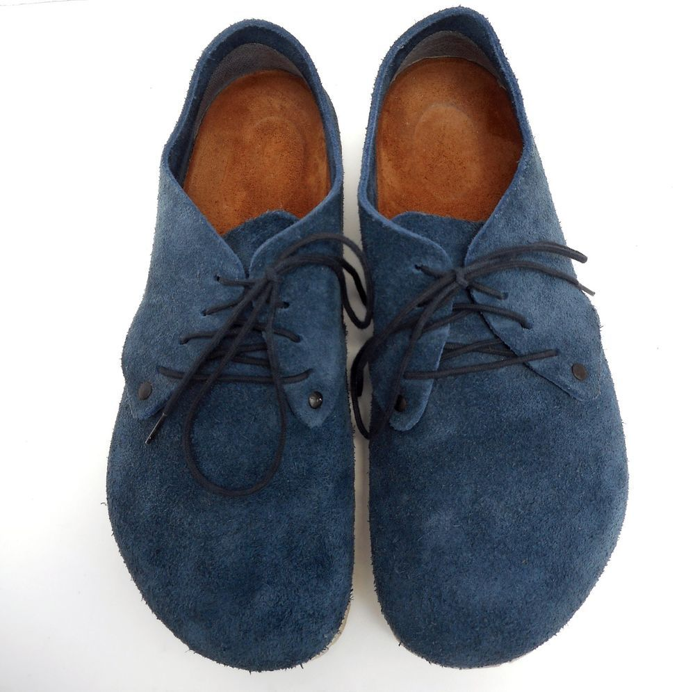 f010ef2c4f7e Birkenstock Maine Oxford Lace Up Denim/Navy Blue Suede Casual Shoes Size 39  L8M6 #Birkenstock #Oxfords #Birkenstocks #BirkenstocMaine #Oxford #LaceUp  #Denim ...