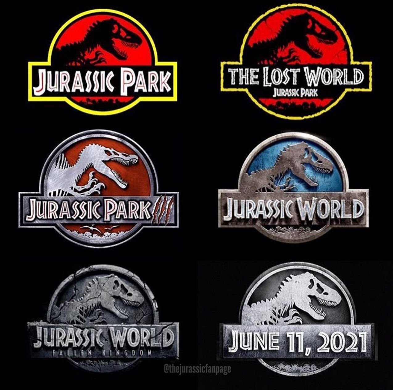 Jurassic Park The Collection Of The Movies And The