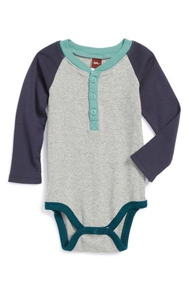 66ff4b68b Free shipping and returns on Tea Collection 'Ludwig' Henley Bodysuit (Baby  Boys)