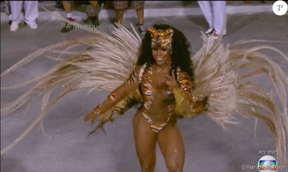 Mangueira IS RIO 2016 CHAMPION! Evelyn Bastos was the last queen to parade on Tuesday, February 9, for MANGUEIRA