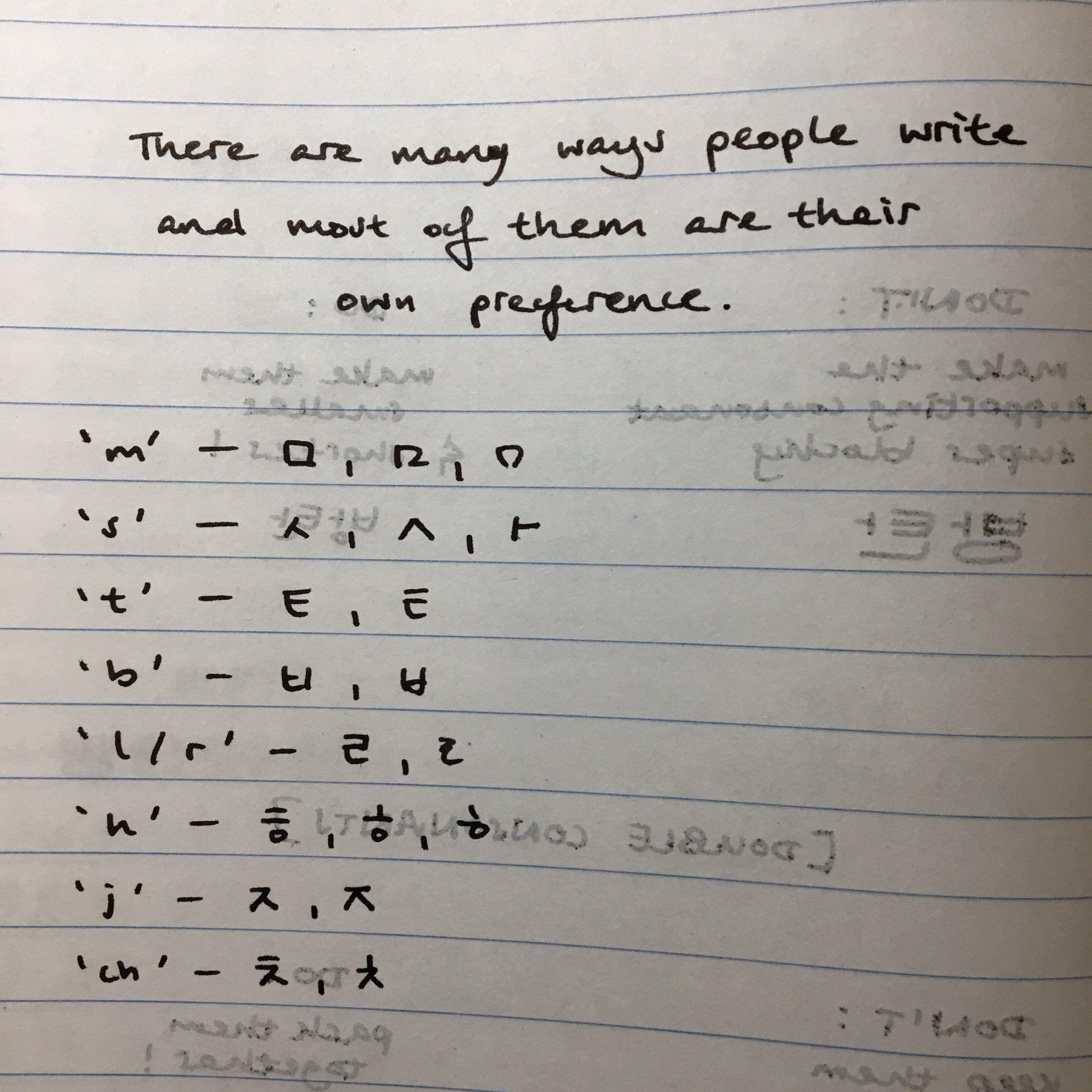 Pin Oleh Pristre Di Hangul