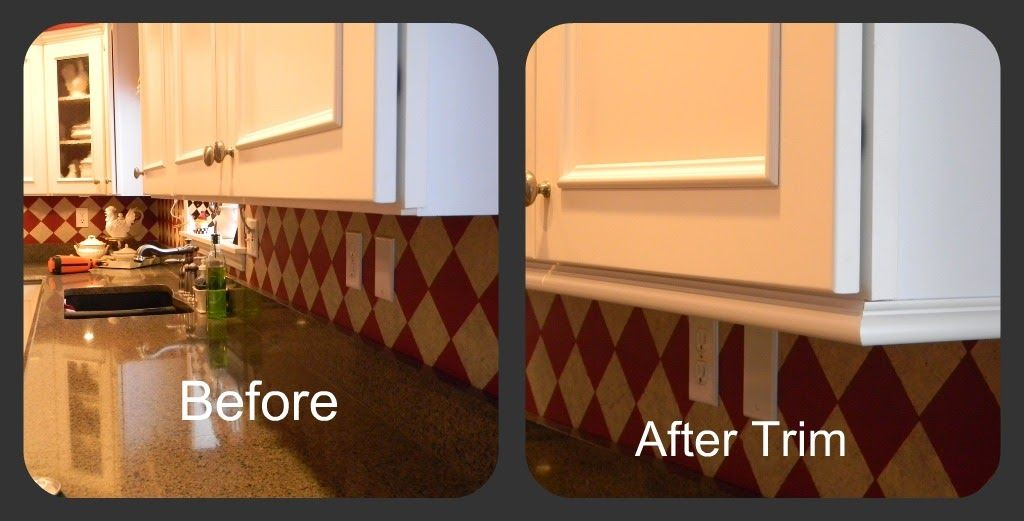 Handyman Special (With images)   Kitchen cabinet molding ...