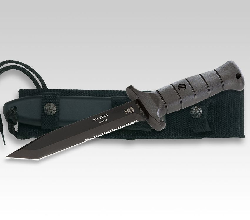 Eickhon Kampfmesser KM 2000 aus Solingen von Eickhorn Kampfmesser Outdoormesser (E825101) - Messer, Bestecke, Jagdmesser - Schneidwaren aus Solingen