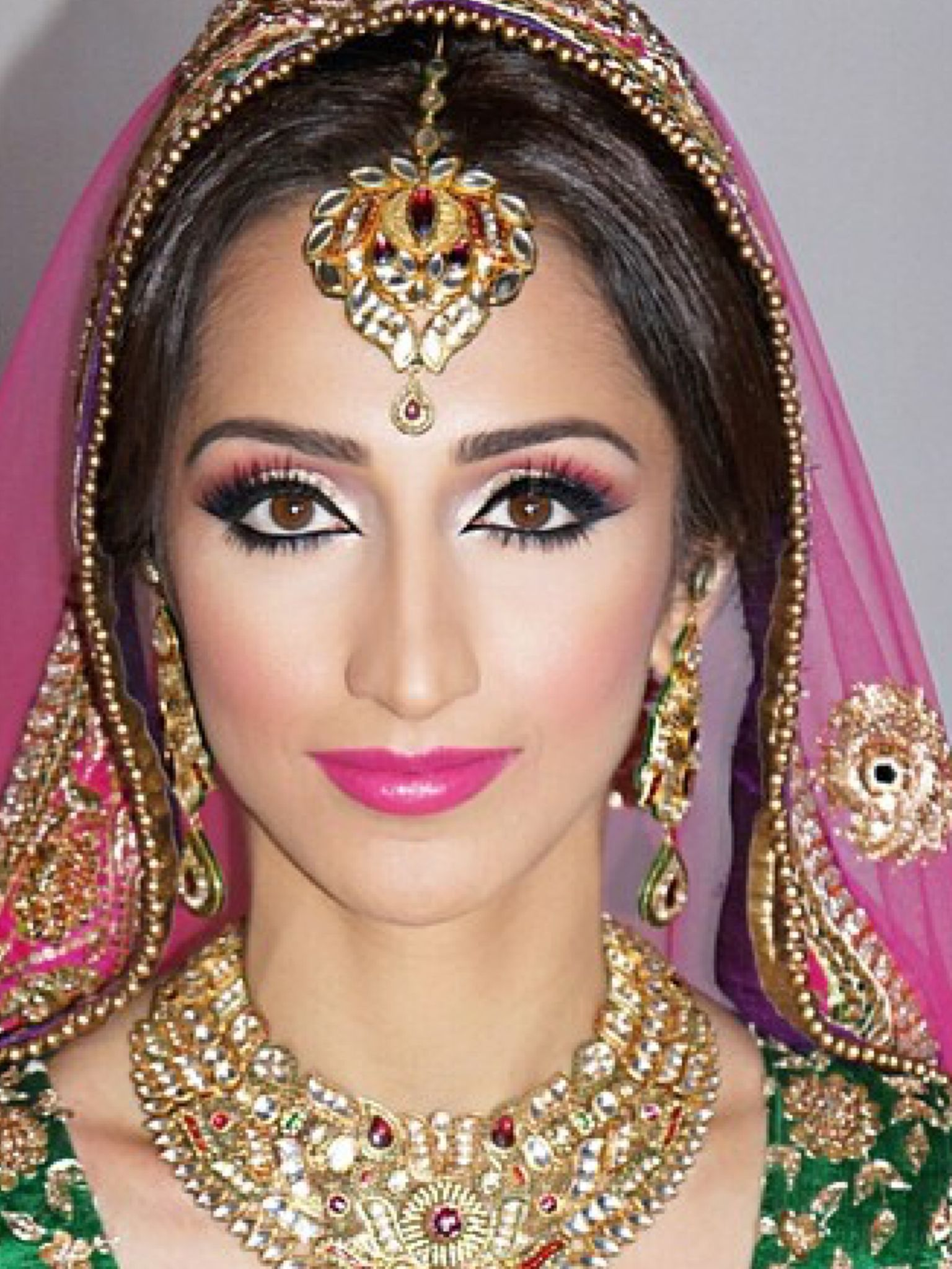 Indian Eyes Indian wedding makeup, Bridal makeup, Indian