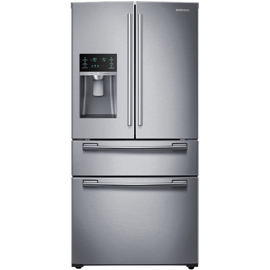 Samsung 24 73 Cu Ft 4 Door French Door Refrigerator With Single
