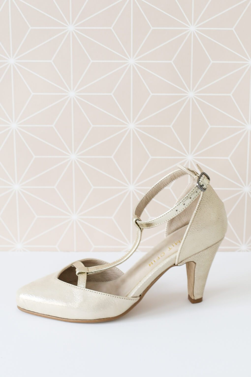 Sophie Shoes In Gold Shlomit Ofir Sophie Shoes Shoes Heels