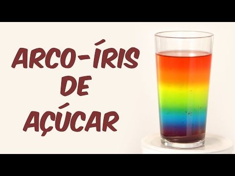 Beba Um Arco Iris Experimentos De Fisica Youtube Com Imagens