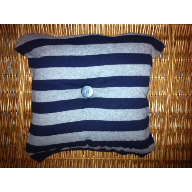 Even old jumper can end up as cushion
