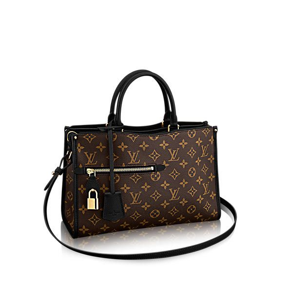 bd81c696d586 Louis Vuitton Monogram Canvas Popincourt MM Noir M43435