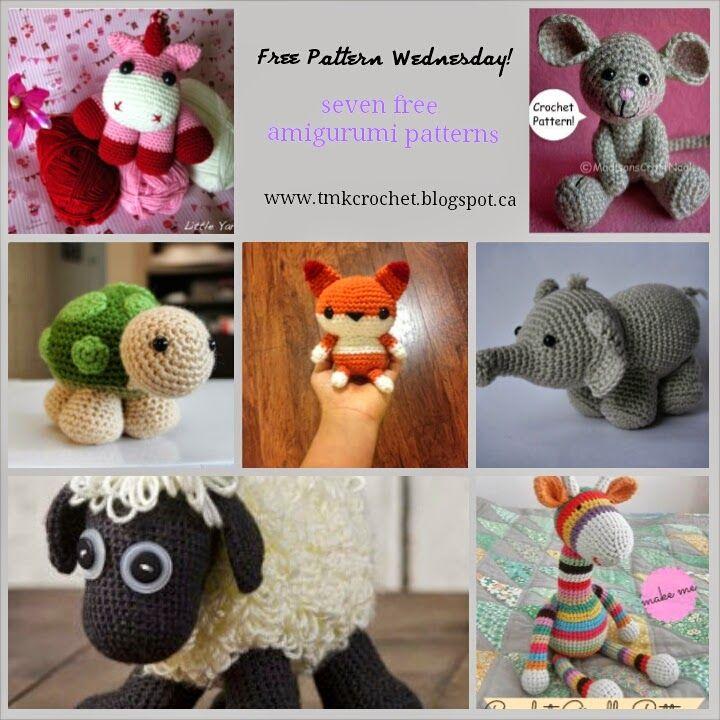 TMK crochet: Free Crochet Pattern Round-Up: Amigurumi | Crafts to ...