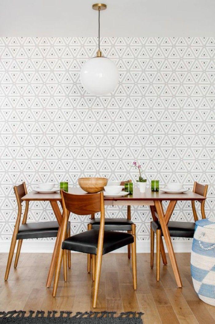 ▷ 1001+ modèles de papier peint 3d originaux et modernes Walls - modele de salle a manger design