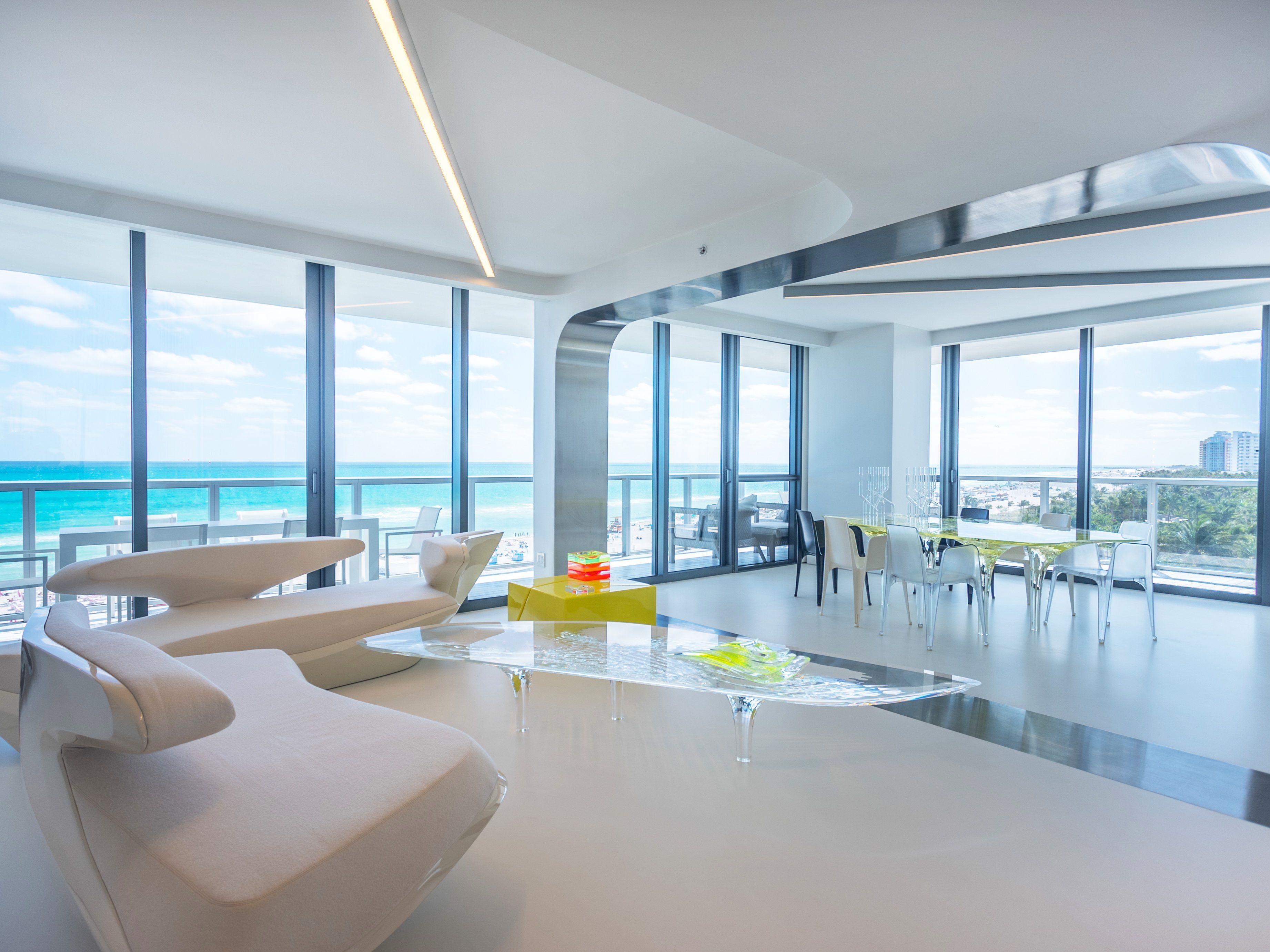 Fantastisch Futuristisch Anmutende Designer Wohnung Bozhinovski ...