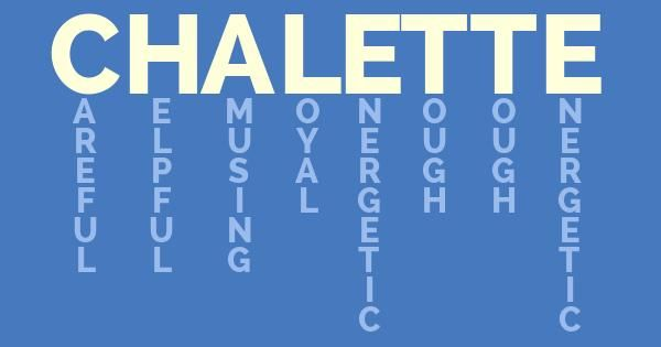 What Does My Name Mean? Tests online #ChaletteMichelle