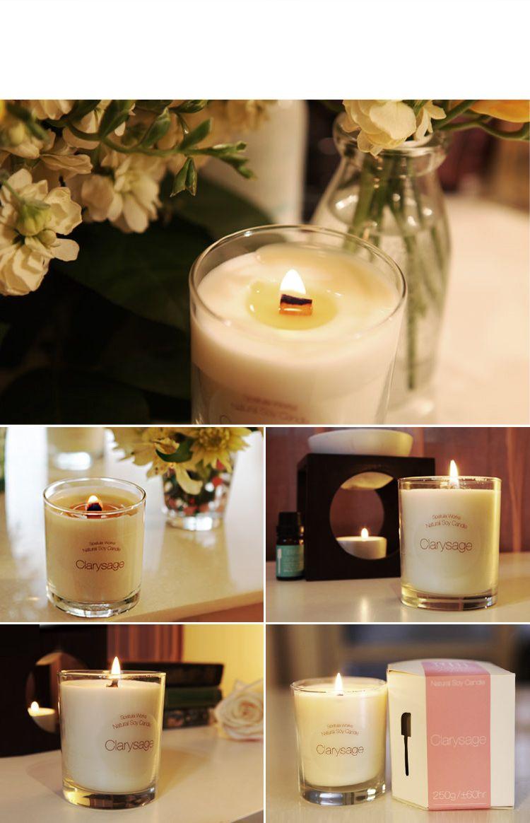 Clarysage_Soy Candle