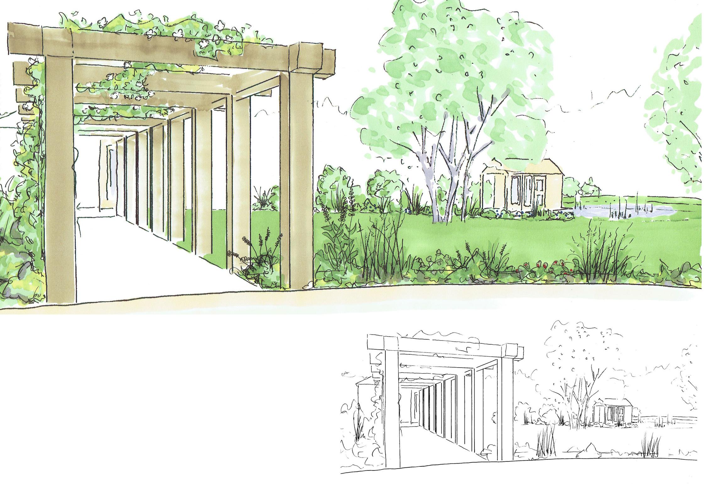 secluded rural retreat fig garden design jingguan