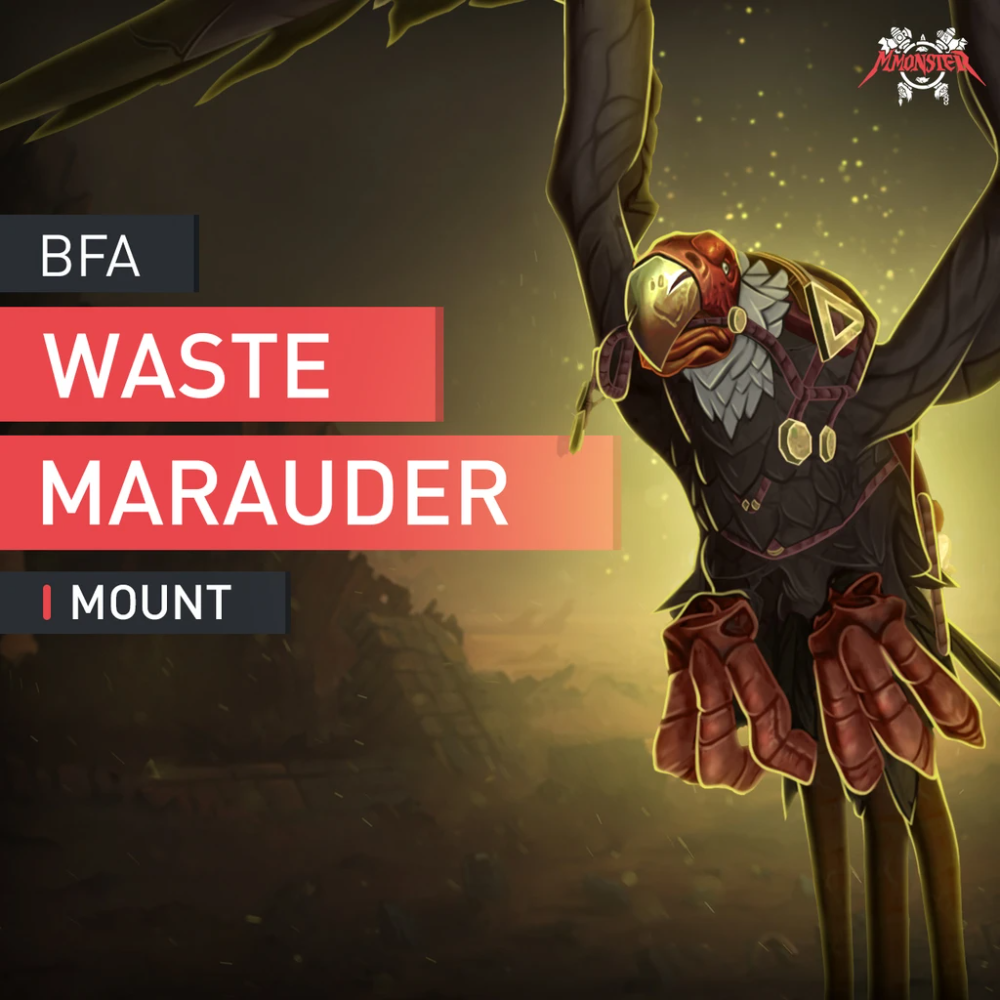 Buy Waste Marauder Mount Boost Best Eu Us Wow Mounts Farm Service The Marauders World Of Warcraft Patch Waste