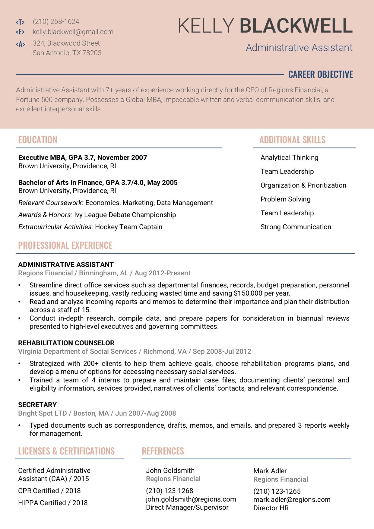 Resume Template 4C RC Resume templates, Resume