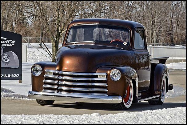 1953 Chevrolet Custom 5 Window Mecum Auctions Classic Cars Trucks Classic Chevy Trucks Chevy Trucks