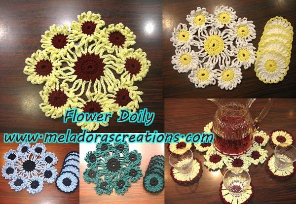 Free Patternsvideos Crochet Doilies And Coasters Crochet