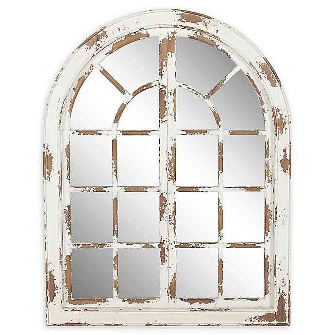 Ridge Road Decor 48-Inch x 37-Inch Arched Window W