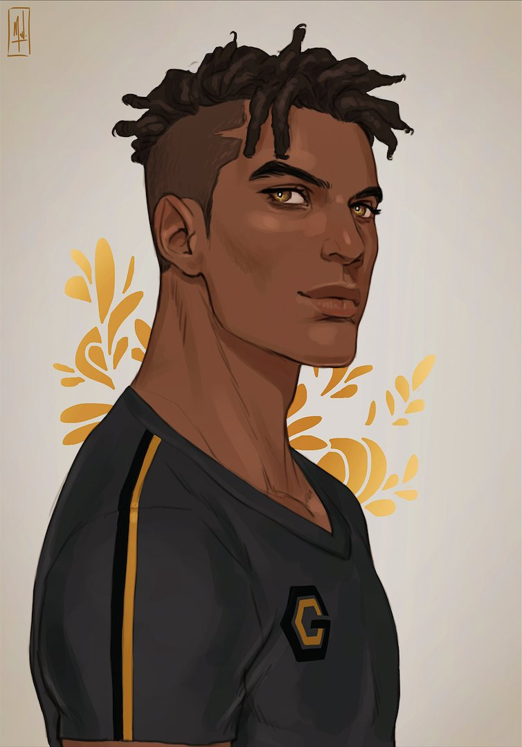 Deetheartist S Profile Picture Black Anime Guy Black Cartoon Black Anime Characters