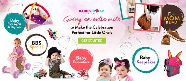 Buy New born baby products Online baby shop: BabiesBloomStore