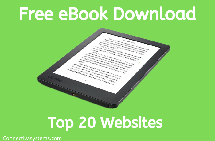 20 Free eBook Download Sites Without Registration in 2020
