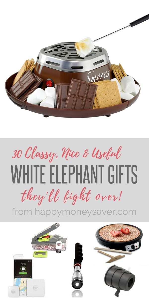 30 Classy Nice & Useful White Elephant Gifts They'll Fight For -   19 white elephant gift for work ideas