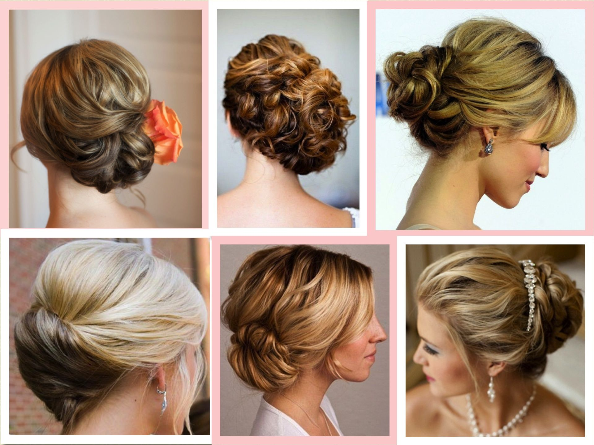 Wedding Reception Tail Hairstyles Curly Hair