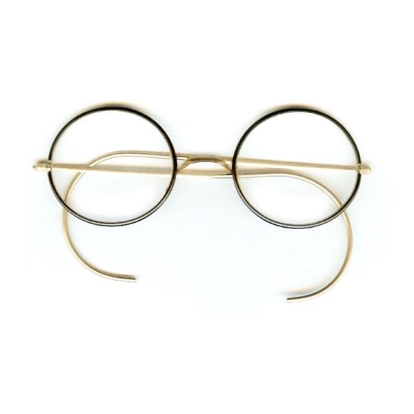 260a25a0b0b2 Round Vintage Windsor Eyeglass Frames ❤ liked on Polyvore featuring  accessories