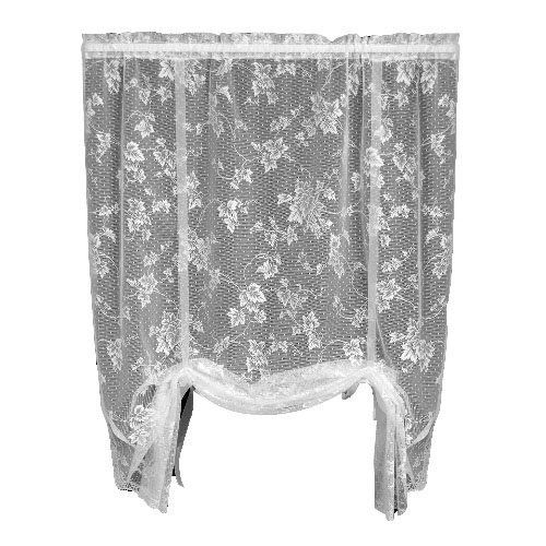 Heritage Lace English Ivy 48 Inch Wide By 63 Inch Drop Drape Shade