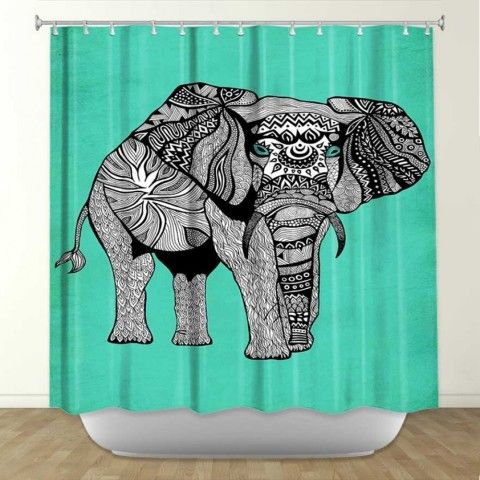 ... Graphic Design Inside Picture Artistic Shower Curtains