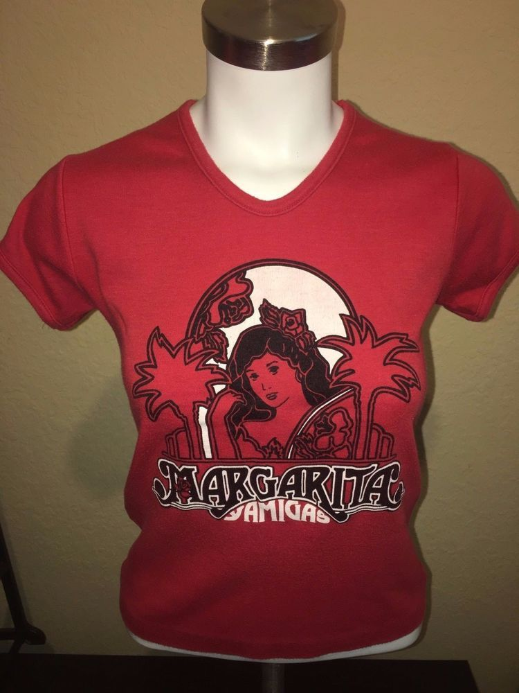 Vintage 80 S Margarita Amigas Restaurant Florida Souvenir T Shirt Large Doll Dollfashions Graphictee