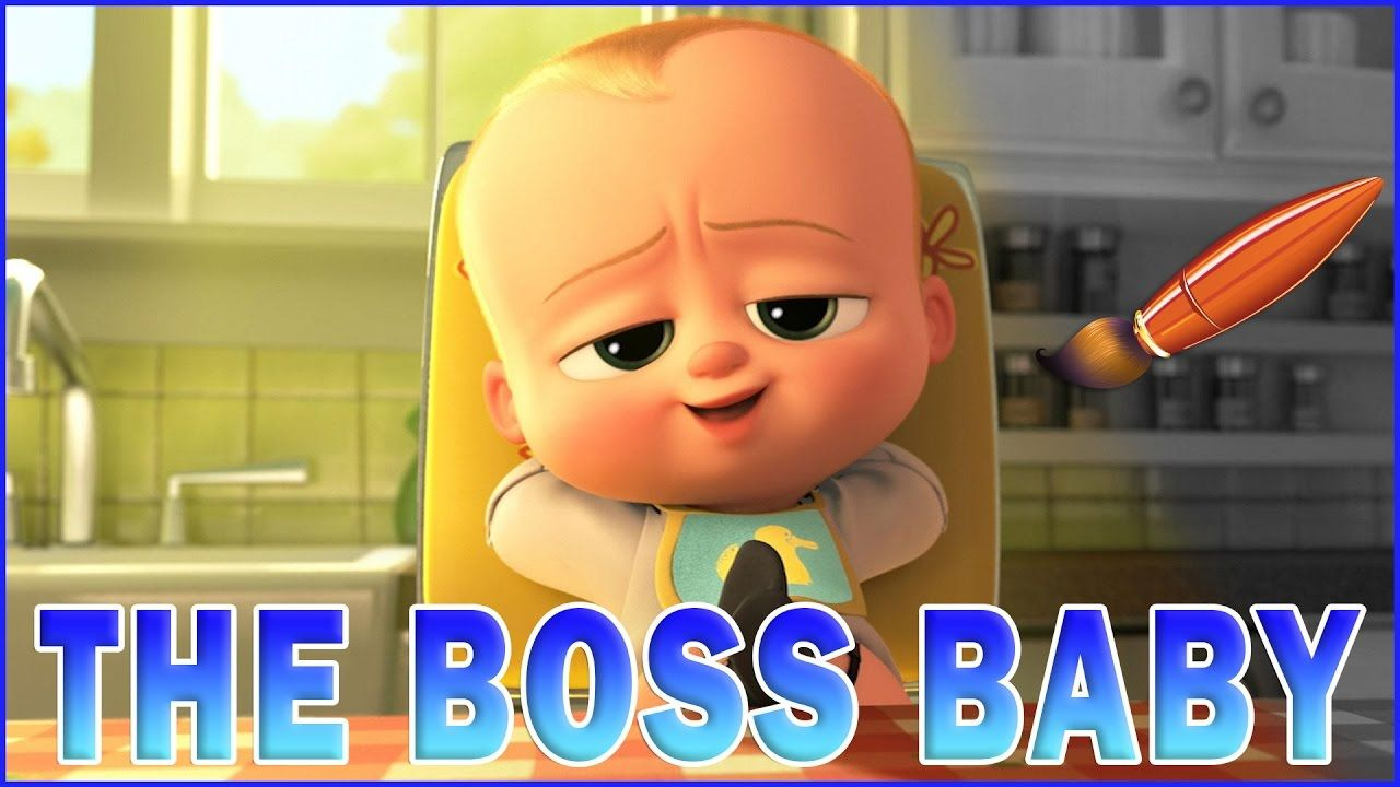 The Boss Baby Movie Relaxing Coloring Book Coloring Pages Video For Boss Baby Baby Movie Relaxing Coloring Book