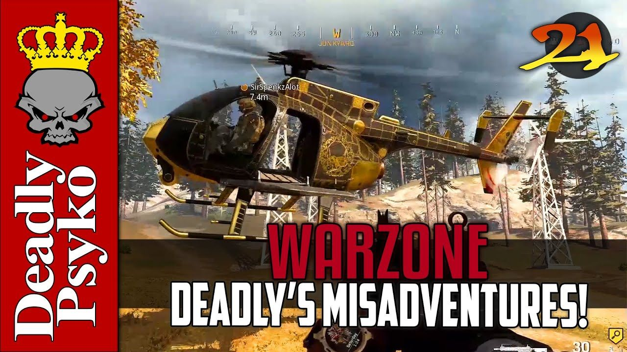 WARZONE Deadly's Misadventures Part 21! (Funnies, Fails