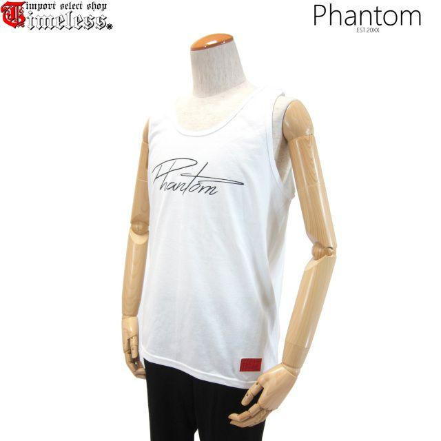 PHANTOM ( ファントム )/ タンクトップ - BASIC LOGO TANK TOP ( WHITE )