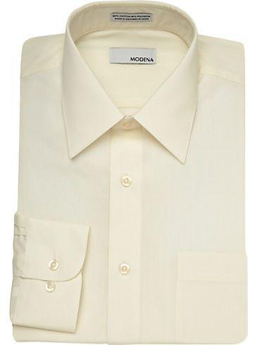 Dress Shirts Modena Ivory Dress Shirt Men S Wearhouse