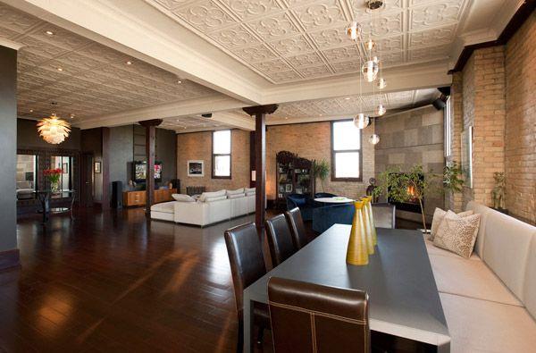 Lovely Warehouse Apartment Plans | Warehouse Loft Interior