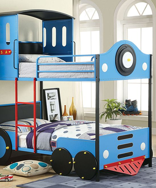 Hollywood Decor Train Twin Bunk Bed Zulily Jeremiah Bunk Beds
