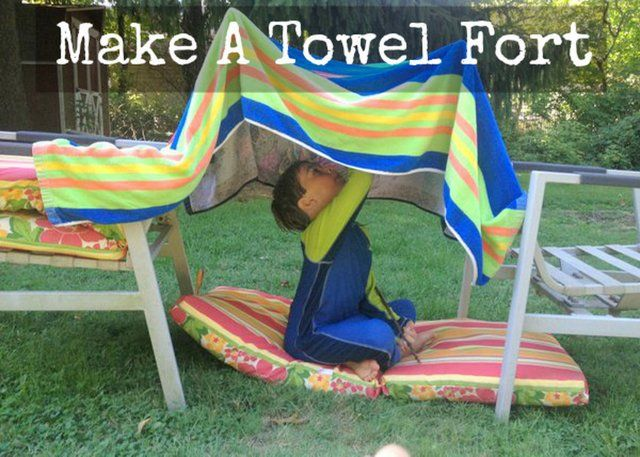 Super Make A Towel Fort 20 Must Follow Moms Outdoor Gmtry Best Dining Table And Chair Ideas Images Gmtryco