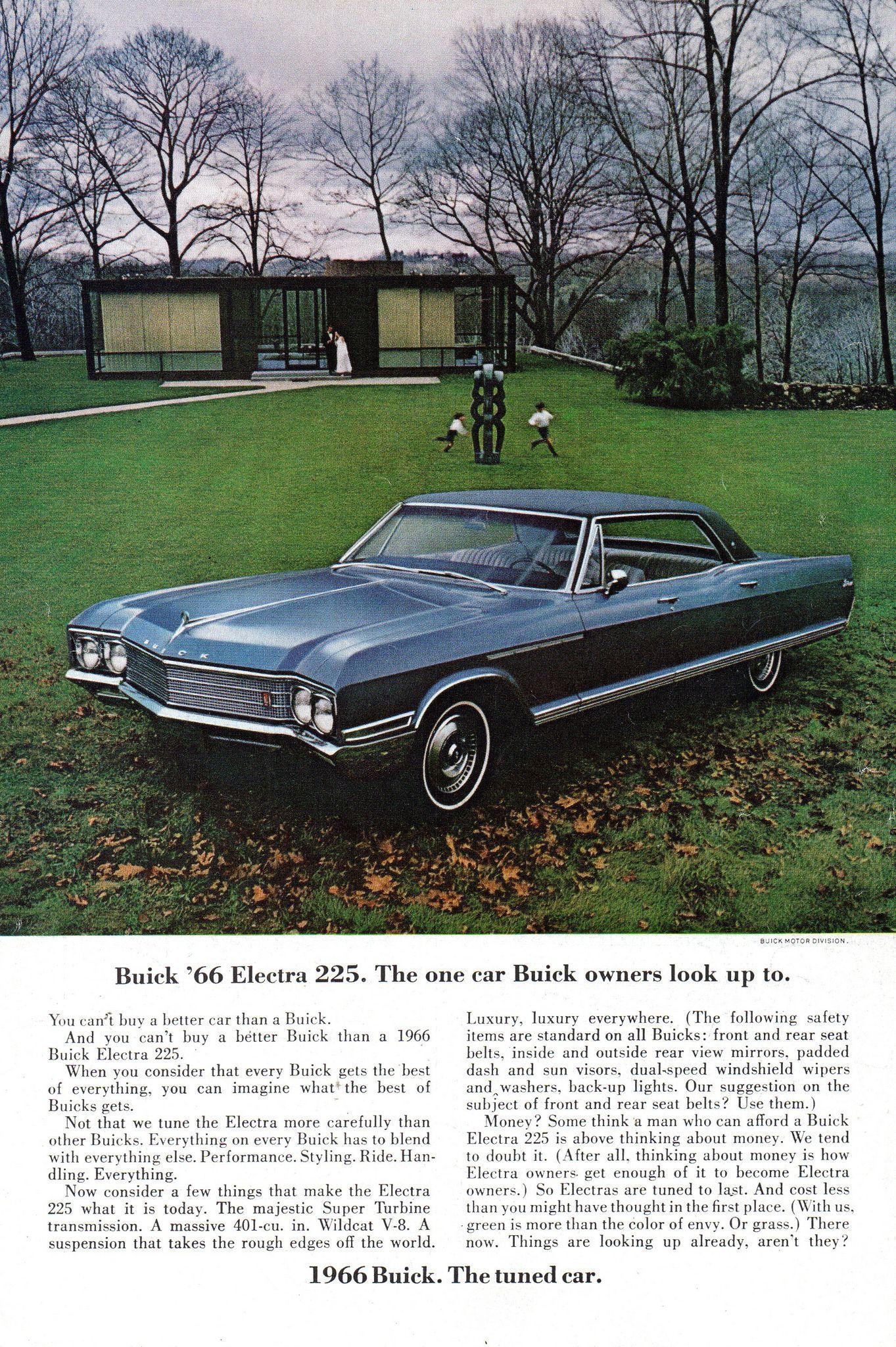 1966 Buick : buick, Buick, Electra, Sport, Sedan, Original, Magazine, Advertisement, Electra,, Buick,