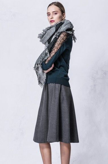 G2000 | Sweater | Lace sleeves