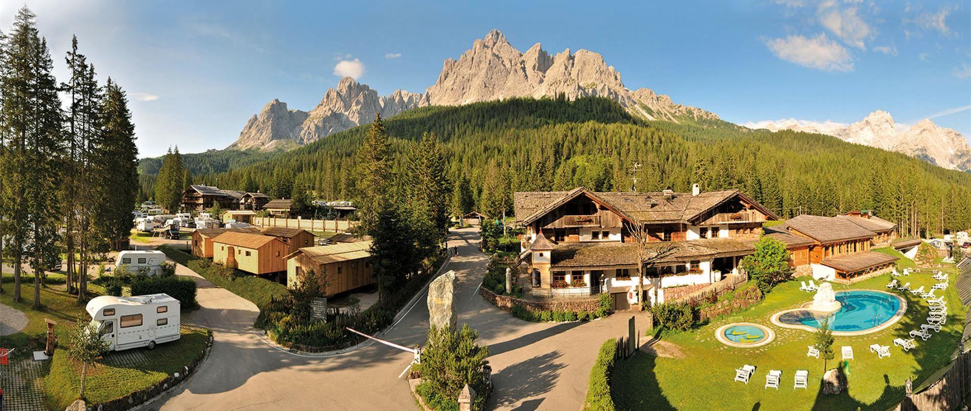 Willkommen im Caravan Park Sexten - Südtirol Campingplatz