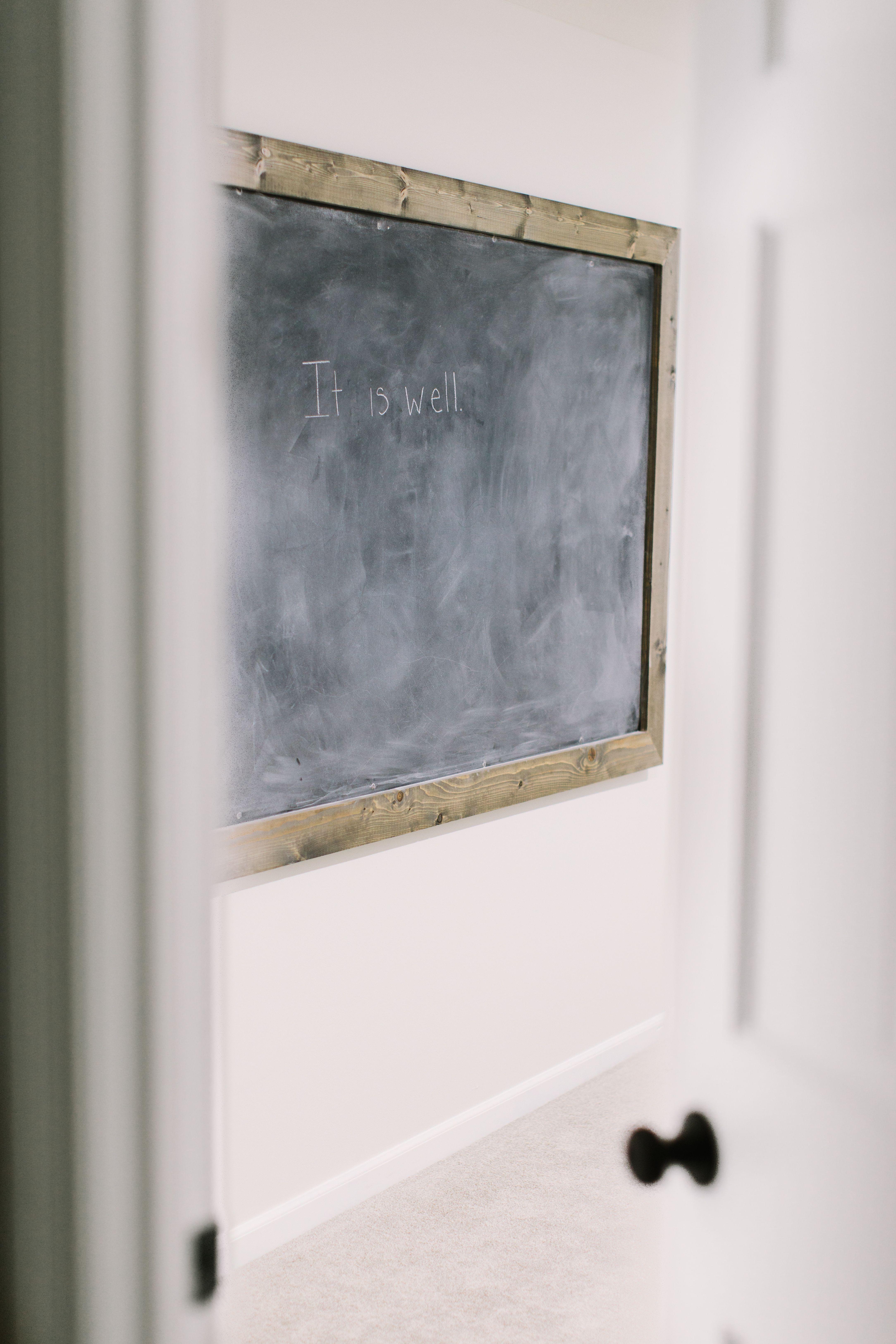 Diy oversized chalkboard large chalkboard chalkboard