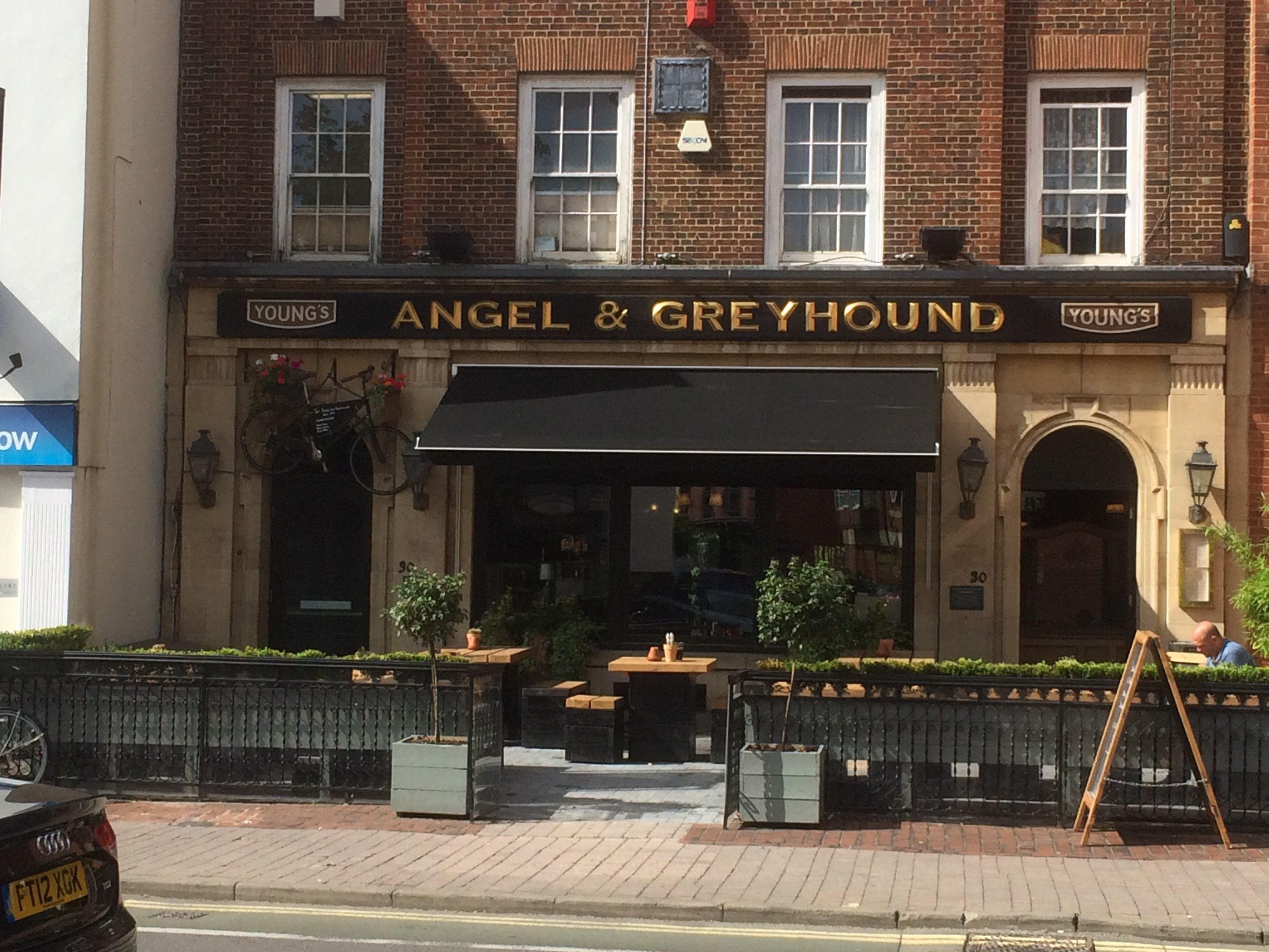 awning recover the angel greyhound oxford awnings and