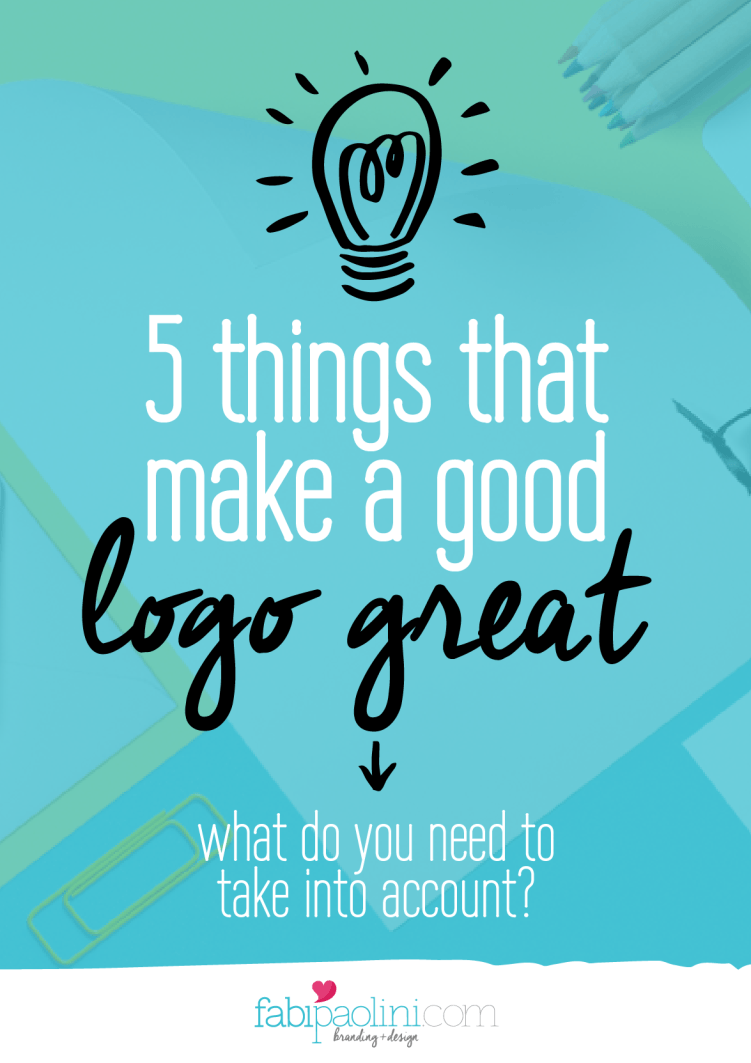 5 things that make a good logo great
