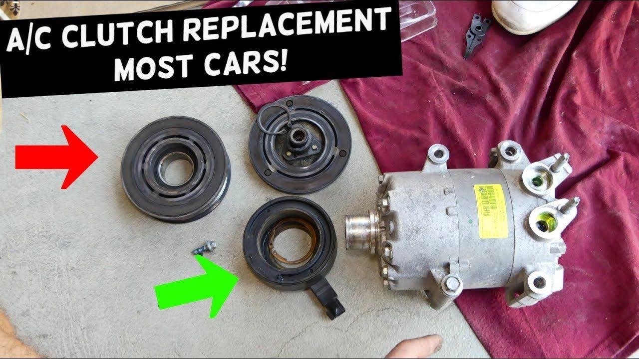 Ac compressor clutch replacement most cars ac clutch